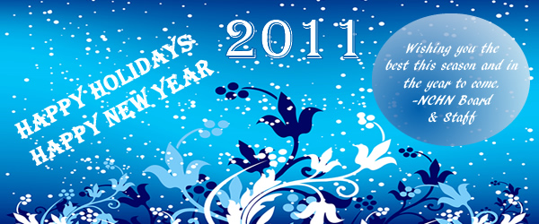 Happy Holidays and Happy New Year from NCHN