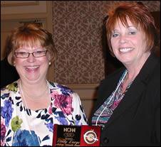 Cindy Large and Rebecca Davis