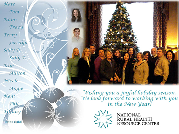 Holiday Greetings from NRHRC