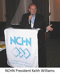 NCHN President Keith Williams