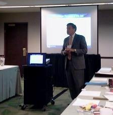 Heman presenting at the 2012 NCHN Leadership Summit