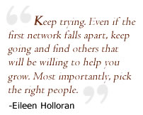 Keep Trying. -Eileen Holloran